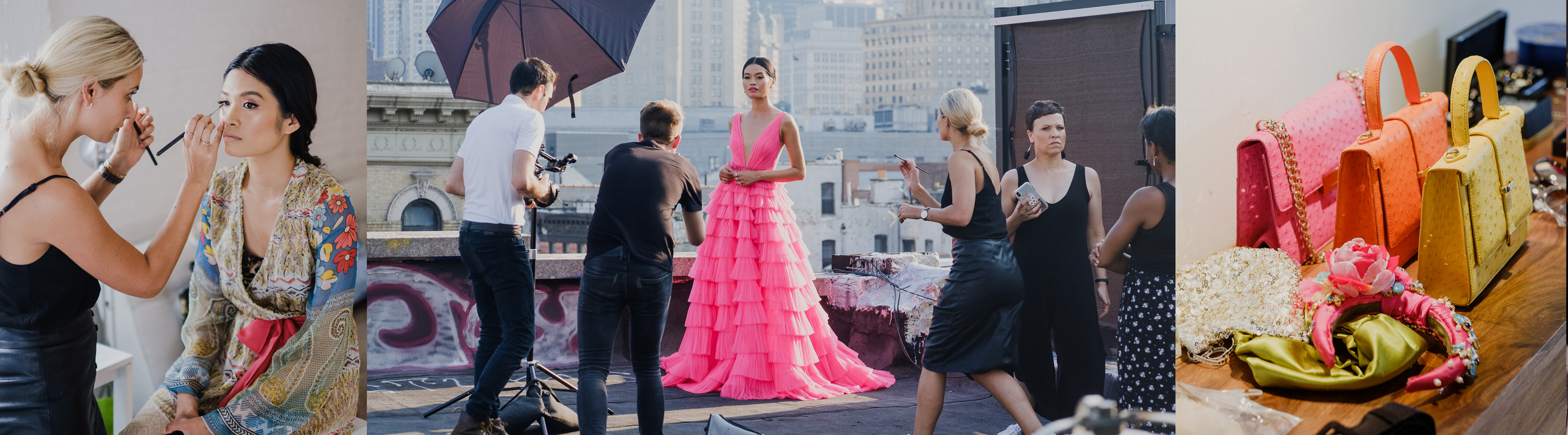 New York Fashion Shoot – Behind the scenes | Exotic Principessa